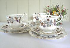 Royal Albert vintage 1960's  tea trio by MaddyVintageHostess
