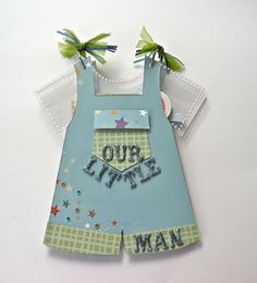 Much Ado About Nothing: ~Baby Boy Bib Overall Acrylic Album~