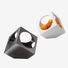 Champagne and wine cooler with a secondary use as a fruit bowl, designed by Constantinos Hoursoglou.