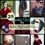 25 DIY Scarf Tutorials
