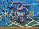 Dragon and The Invisible Man - Liu Bolin, paints himself as a camouflage using various Chinese locations as his backdrop.