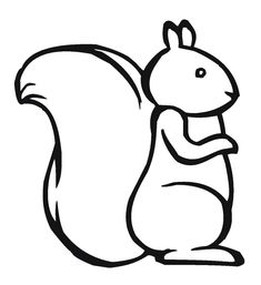 Squirrel Eat Fruit Coloring Pages | Kids Coloring Pages ...