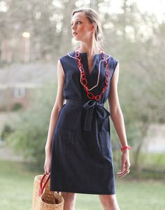 kayce hughes belted tunic dress c46770b815adc
