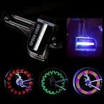 LEADBIKE A02 14 LED Bicycle Spoke Light with 30 Patterns