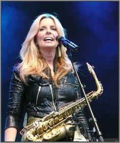 Candy Dulfer Dutch Smooth Jazz Alto Saxophonist Who