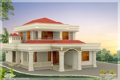 Nice House Design home exterior design photos, house elevation designs, kerala home