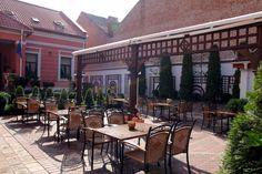 Terasa restaurantului Casa del Sole