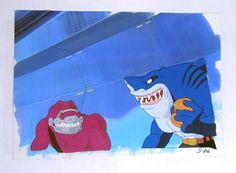 Diamond International Galleries - Street Sharks/Dinovengers Animation Cel