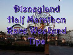 disneyland half marathon race tips