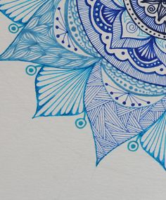 Mandala Print, Mandala Design, Bedroom Posters, Geometric Art, Dorm Decorations, Bohemian Decor, Art Studios, Teal Blue, Zentangle