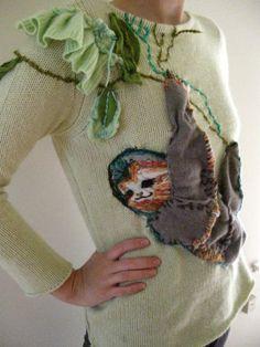 Tree Sloth Sweater