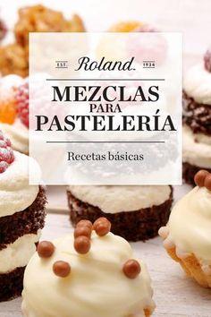 """Cover of """"Roland Foods Mezclas para Pastelería - Recetas Básicas"""""""