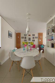 Apartamento de um jovem casal.