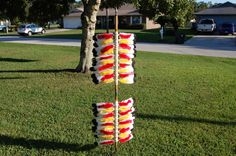 """Florida State Seminoles Yard Spear FSU by SpearShop on Etsy. I can only imagine how this would """"fly"""" here """"High, on Poppy Court!"""""""