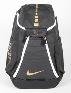 Nike Hoops Elite Max Air Backpack (White Black Metallic Silver ... ee89d8d5d012c