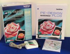 Brother PE-Design Plus Embroidery Software