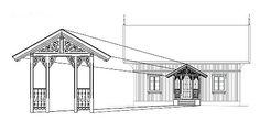 Sveitserhus 1840-1920 Norwegian House, Nordic Style, Hallways, Norway, Sweden, Gingerbread, Louvre, Stairs, Woodworking