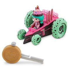 Disney Candle Head Racer - Wreck-It Ralph | Disney StoreCandle Head Racer - Wreck-It Ralph - Get a major Sugar Rush when you light-out with Candle's super-fast, fun-frosted race car with key-launcher. Just put in the key, push the button and let her rip! Collect all twelve racers in this series.