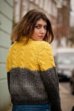 Ravelry: Tunisian Cable and Rib Sweater pattern by Lindy Zubairy