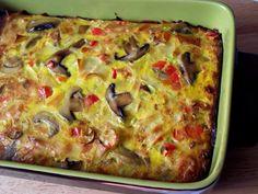 Frittata, Lasagna, Food To Make, Paste, Food And Drink, Breakfast, Ethnic Recipes, Homemade Food, Mariana