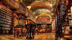 Cathedral of books,Prague Library