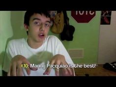 "How to Act Around Filipinos : PART ONE  ""Oh my gash, I forgot you're puti..."""