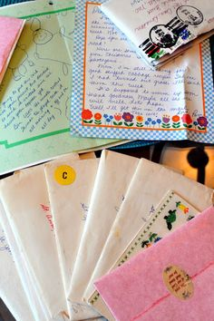 Real Mail ~ An Artful Mom