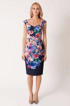 $390 Black Halo Textured Waverly Wishing Well Floral Sheath Dress 10 NWT B687 #BlackHalo #SheathDress #Cocktail