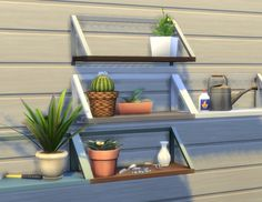 Balsa Shelf by plasticbox at Mod The Sims via Sims 4 Updates