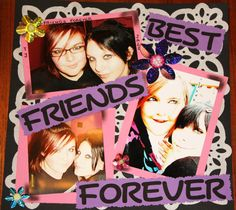 Best friends forever - Scrapjazz.com