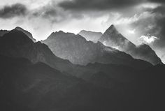 Moody mountains