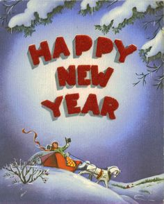 In the very BEST of SPIRITS  May you start a grand new year!  May each day, in turn, be bringing  More and MORE good luck and cheer!  And clear thru until you END it  May the whole year prove to be  Just the VERY sort of New Year  That will suit you PERFECTLY!