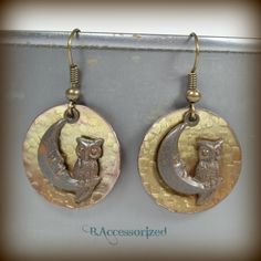 FUF 12/4/15: B.Accessorized Moon/Owl charms from B'SueBoutiques.com
