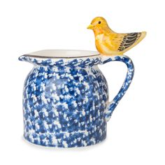 'Noelle' pitcher henriette w bird spring blue