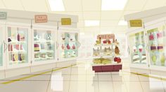 """kevindart: """" ducksofrubber: """" here are some backgrounds, props, and effects I did a billion years ago for The Powerpuff Girl's special """"Dance Pantsed"""" """" Jasmin is one of the most talented designers. Landscape Background, Animation Background, Environment Concept Art, Environment Design, Kevin Dart, Anime Scenery Wallpaper, Girl Background, Motion Backgrounds, Prop Design"""
