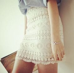 Amazing Lace pencil skirt... If you work in a more creative environment