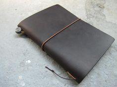 Midori Traveler's Notebook Passport Size Brown | Miscellaneous