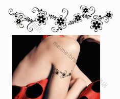 arm band tattoos for girls | Arm and wrist tattoos are great for GIFTS, PARTY FAVORS and ACTIVITIES ...