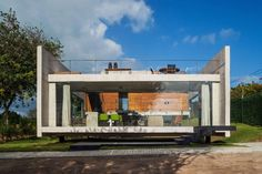 Two Beams House by Escritório Yuri Vital