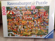Ravensburger Jigsaw Puzzle Cartoon Dog Show 1000 Piece Brand New FOR SALE • £3.99 • See Photos! Money Back Guarantee. Still sealed in cellophane. 272448510148
