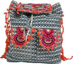 Pom Pom backpack http://www.swell.com/Womens-Accessories/-POM-POM-TRIBAL-BACKPACK?cs=MU