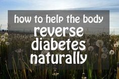 How to Help Your Body Reverse Diabetes - Diabetes in on the rise but there are ways to help support recovery naturally with lifestyle factors like sleep, exercise and stress reduction, and diet. #diabetescure