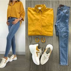 Visit Us : www. Casual Work Outfits, Business Casual Outfits, Sporty Outfits, Simple Outfits, Classy Outfits, Chic Outfits, Trendy Outfits, Teen Fashion Outfits, Look Fashion