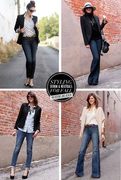 Styling Denim and Neutrals for Fall, whatiwore.tumblr.com