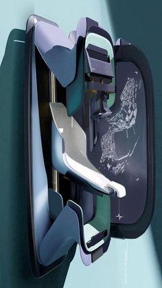 Car Interior Sketch, Car Interior Design, Interior Rendering, Automotive Design, Car Interiors, Creative Colour, Car Sketch, Cool Cars, Robot