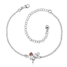 """2016 The new European and American fashion classic silver fashion silver anklets beautiful romantic letters """"love"""" woman anklets     Tag a friend who would love this!     FREE Shipping Worldwide     Get it here ---> http://jewelry-steals.com/products/2016-the-new-european-and-american-fashion-classic-silver-fashion-silver-anklets-beautiful-romantic-letters-love-woman-anklets/    #earrings"""