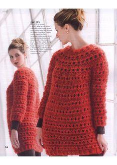 Jumper Patterns, Knitting Patterns Free, Knit Patterns, Free Knitting, Knit Fashion, I Love Fashion, Big Knits, Chunky Knits, Sweater Set