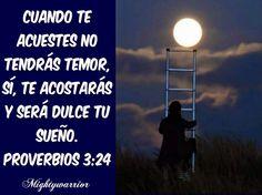 """JESUS PODEROSO GUERRERO: Proverbios 3:24~~~"""" Confiando en Dios """""""