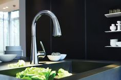 GROHE Ladylux3 Kitchen Faucet. #kitchen #faucet #tap #mixer See more at http://www.grohe.com/us/5898/kitchen/kitchen-faucets/ladylux/
