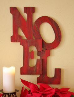 Noel Sign Like This!!!